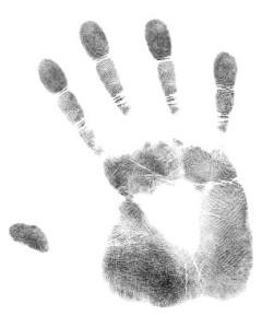 hand print - branding
